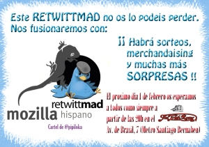 "ReTwittMad especial ""Mozilla"""